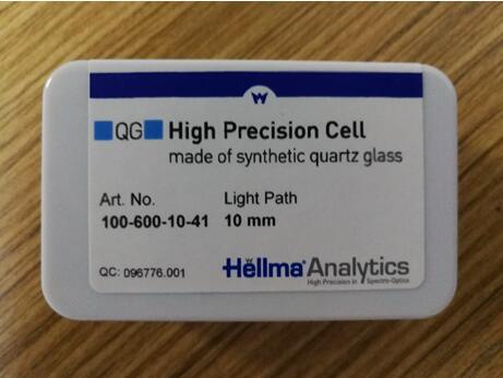 德国Hellma大容量吸光比色皿(100.600-QG)